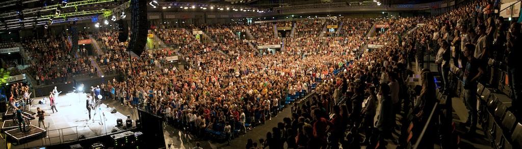 Holy Spirit Night Porsche Arena Stuttgart Germany