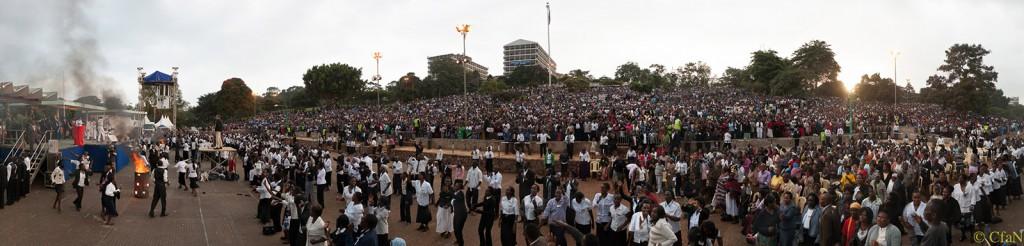 Christ for all Nations Great Gospel Crusade - Nairobi, Kenya - Day 3