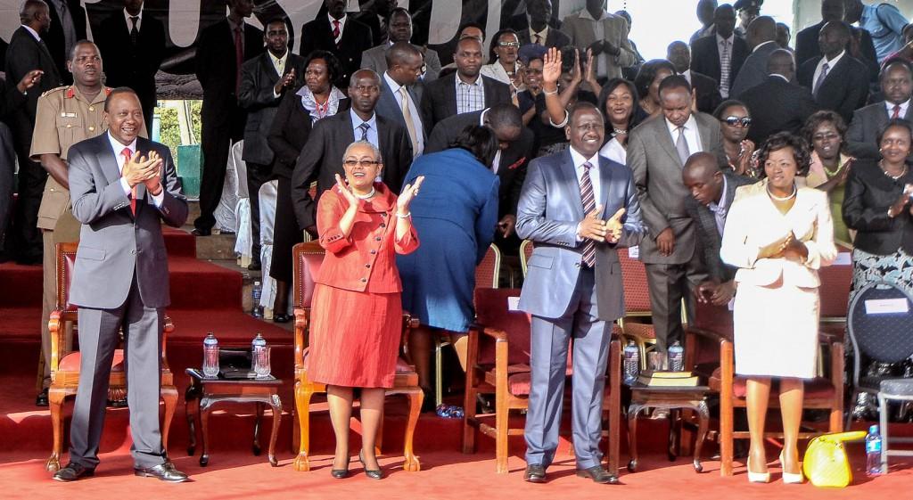 Christ for all Nations Great Gospel Crusade - Nairobi, Kenya - Day 4 - President Uhuru Kenyatta